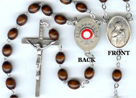St. Therese Relic Rosary - Discount Catholic Store