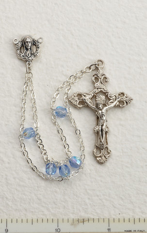 Blue Ladder Rosary - Discount Catholic Store
