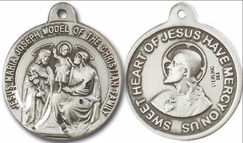 Holy Family ~ Sacred Heart of Jesus Medal