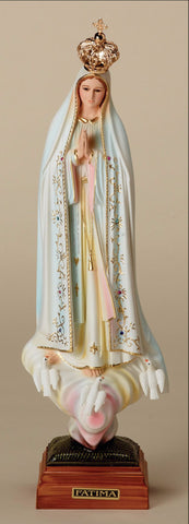 "Our Lady of Fatima with Crown 16.5"" - Discount Catholic Store"