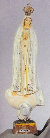 "Our Lady of Fatima with Crown 21"" Statue"