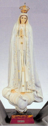 Our Lady of Fatima Statue with Jeweled Crown - Discount Catholic Store