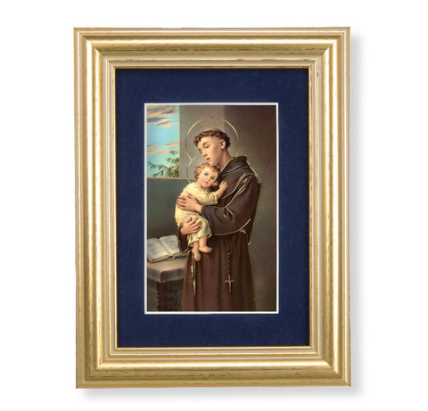 Miniature St. Anthony Framed Art