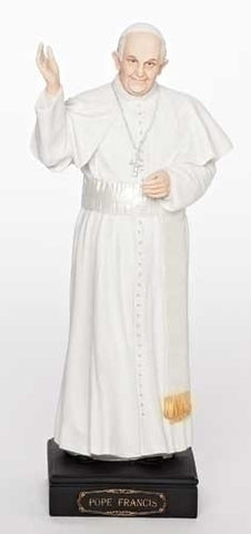 Pope Francis Statue 11""