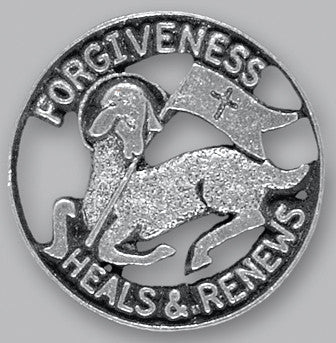 Lapel Pin - Forgiveness 3/4""