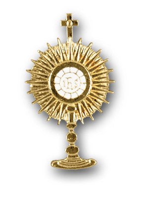 Lapel Pin - Monstrance 1.75""