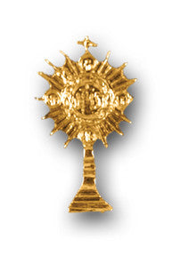 Lapel Pin - Monstrance 1""