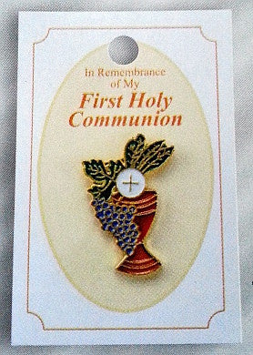 Lapel Pin - First Communion 1""