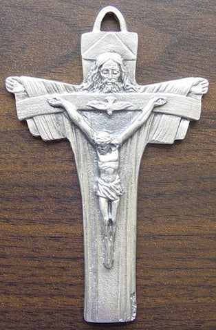 "5"" Trinity Crucifix - Discount Catholic Store"