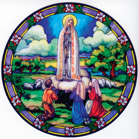 Our Lady of Fatima Window Sticker