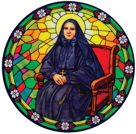 St. Frances Cabrini Window Sticker