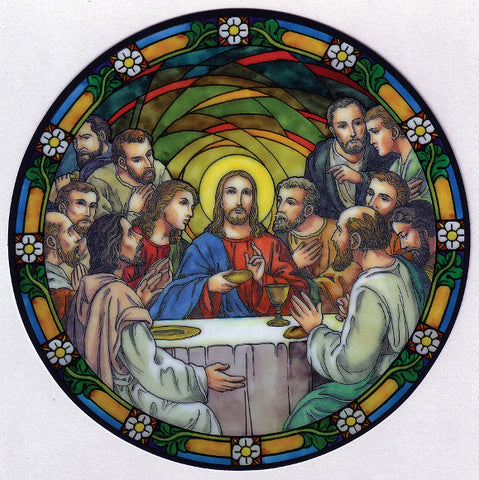 Last Supper Window Sticker