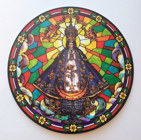 Our Lady of San Juan Suncatcher