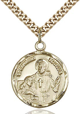 Gold Filled St. Camillus Medal