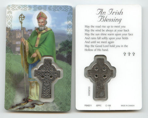 St. Patrick Prayer Card