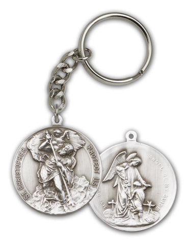 Key Chain - St. Christopher / Guardian Angel