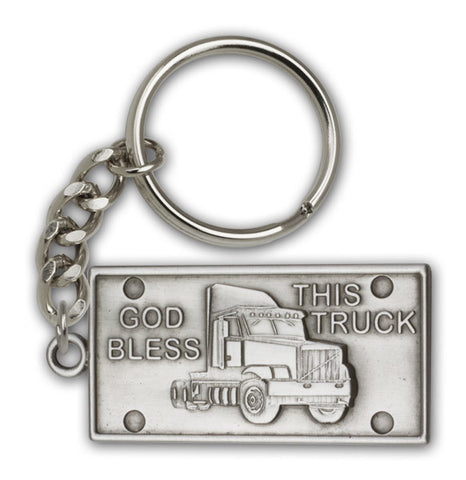 Key Chain - God Bless this Truck