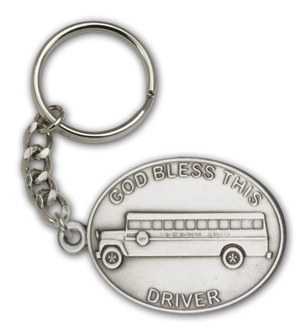 Key Chain - God Bless this Bus Driver