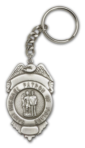 Key Chain - St. Michael Shield