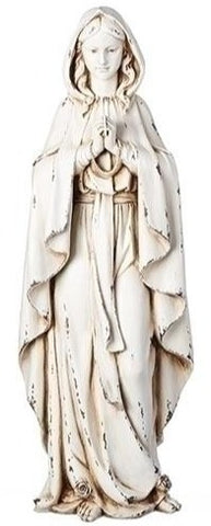 Our Lady of Lourdes Outdoor Statue 23""