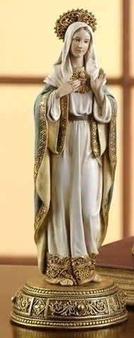 Immaculate Heart of Mary Statue, Hidden Drawer - Discount Catholic Store