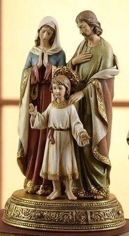 "10.5"" Holy Family Statue, Hidden Drawer - Discount Catholic Store"