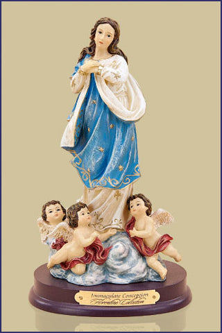 Immaculate Conception Resin Statue