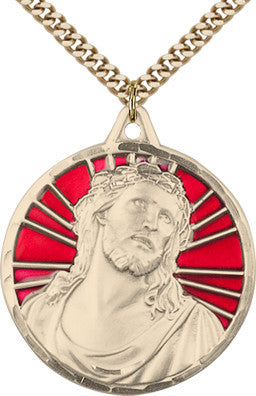 Ecce Homo 14Kt. Gold Filled Medal - Discount Catholic Store