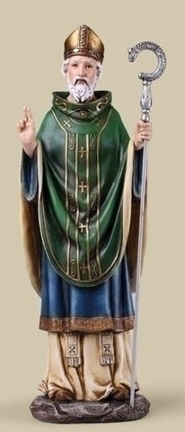 "St. Patrick 14"" Statue - Discount Catholic Store"