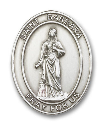 Car Visor Clip - St. Barbara