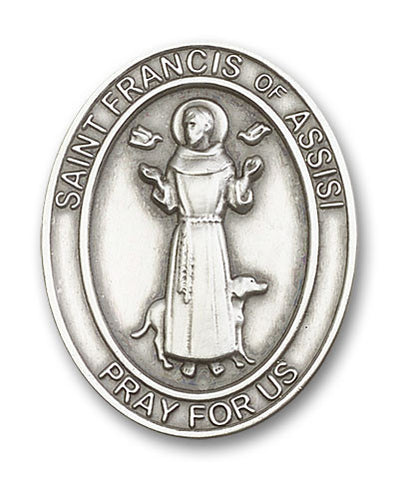 Car Visor Clip - St. Francis of Assis