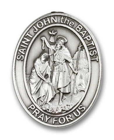 Car Visor Clip - St. John the Baptist