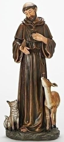 "18"" St. Francis - Discount Catholic Store"