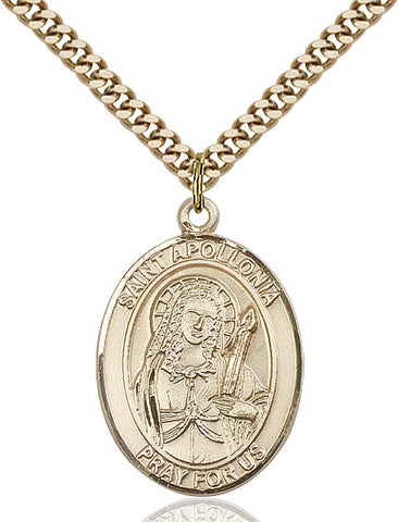 St. Apollonia Gold Filled 1""