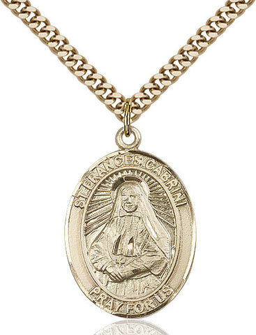St. Frances Cabrini Gold Filled 1""