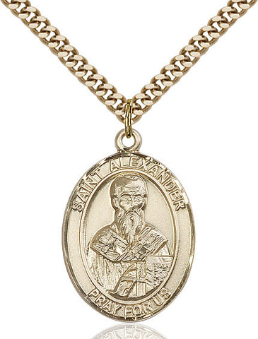 St. Alexander Sauli Gold Filled 1""