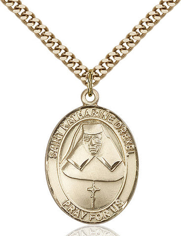 St. Katharine Drexel Gold Filled 1""