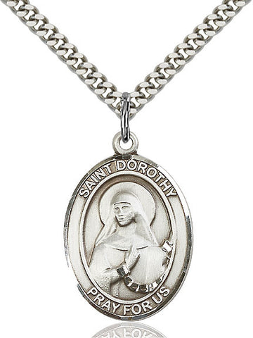 St. Dorothy Sterling Silver 1""