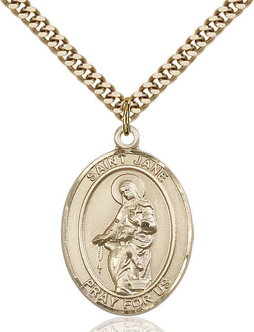 St. Jane Of Valois Gold Filled 1""