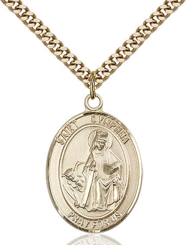 St. Dymphna Gold Filled 1""