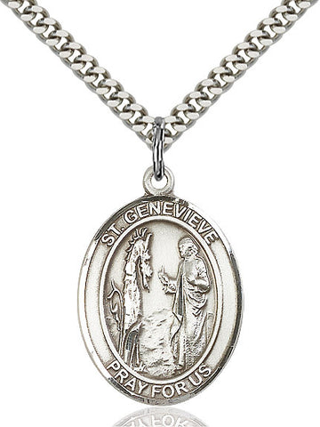 St. Genevieve Sterling Silver 1""