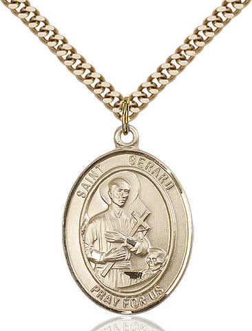St. Gerard Majella Gold Filled 1""