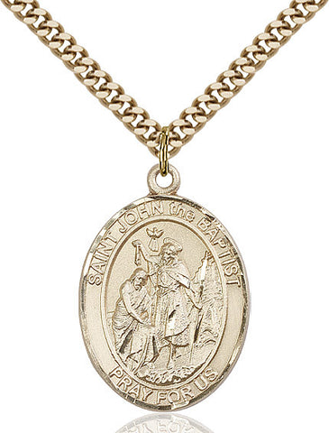 St. John The Baptist Gold Filled 1""