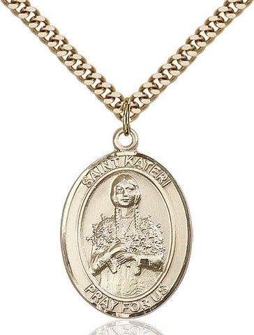 St. Kateri Gold Filled 1""