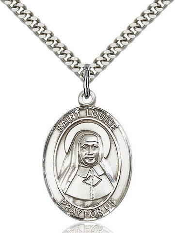 St. Louise De Marillac Sterling Silver 1""