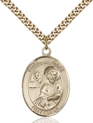 St. Mark The Evangelist Gold Filled 1""