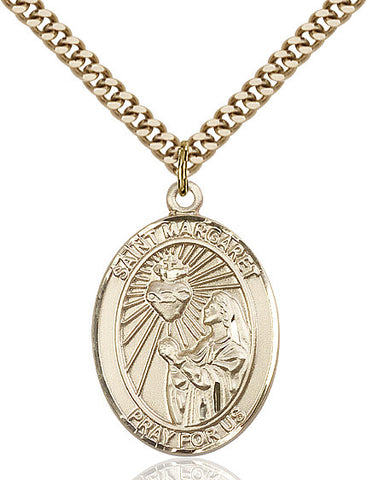 St. Margaret Mary Alacoque Gold Filled 1""