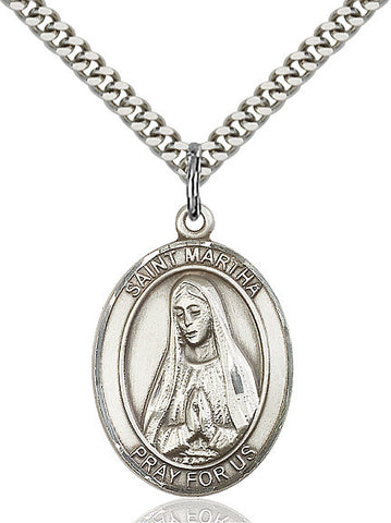 St. Martha Sterling Silver 1""