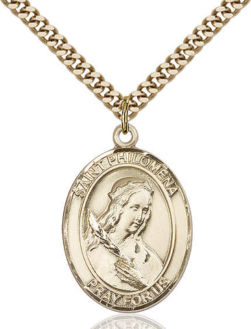 St. Philomena Gold Filled 1""