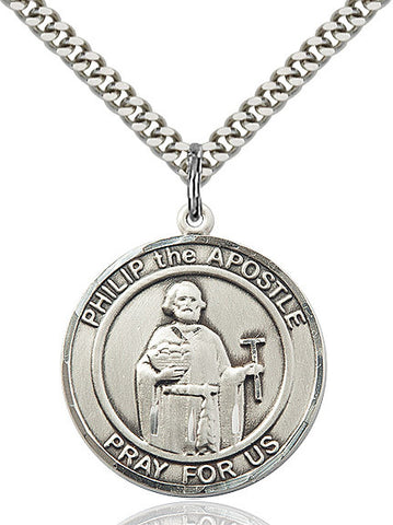 Philip The Apostle Sterling Silver 1""